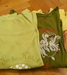 Set od 3 bluzi - ubavi pastelni boi...
