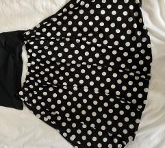 Nova suknja so tochki