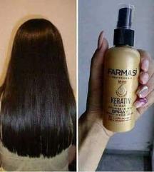 Кератин спреј за обновување на косата