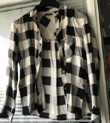 Bershka карирана кошула