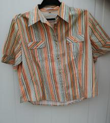 La Strada кошула со кратки ракави