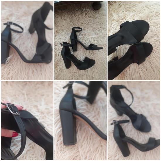Crni sandali