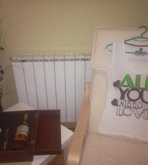 Бела Нова маица AllYouNeedIsLove