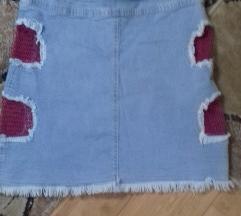Eldorado Jeans suknja M