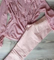 Kosula i pantaloni nezno roze