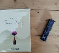 Zenski parfem far away + podarok karmin