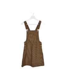 Plaid Overalls (еднаш облечено)