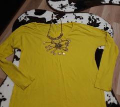 Zolta limon boja bluza
