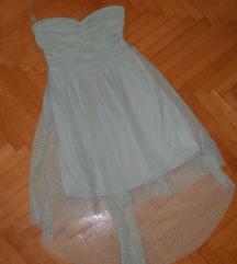BERSHKA Sveceno fustance vel XS/S - 250 den