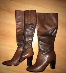 чизми на штикла кожни  38
