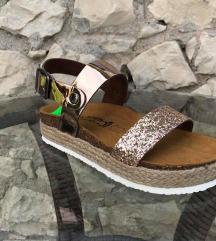 Nickless kozni anatomski sandali -  kako novi