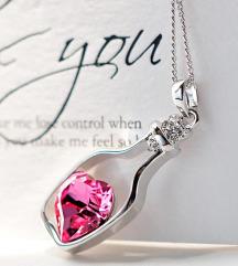 Ланче со розе срце