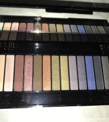 16 eye shadows