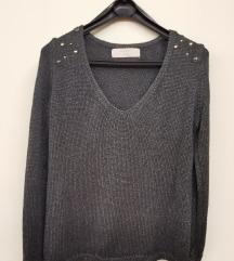Zara knit bluza rezz