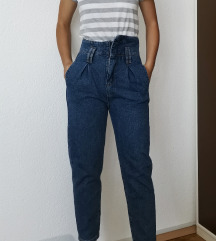 Висок струк фармерки