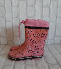 Розеви гумени чизмички