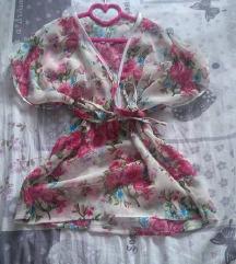 НОВА Розе жоржет кошула летна