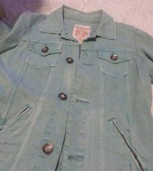 Bershka nova teksas proletna jakna