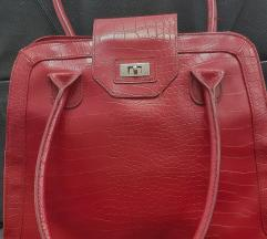 ORIFLAME црвена чанта