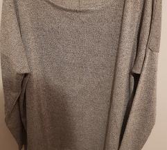 Siva terranova bluza oversize