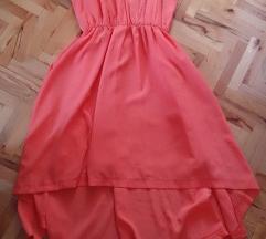 Нов портокалов фустан