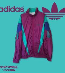 Adidas '90s Purple/Green/Navy Blue Windbreaker