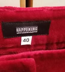 Нови happening плиш панталони 40