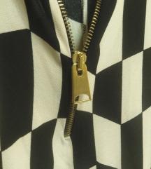 Блуза со патент