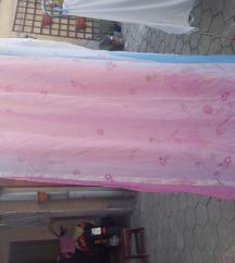 Zavesa so draperi za detska soba