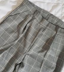 НОВИ Карирани сиви панталони