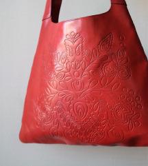 GAP Kozna crvena torba !