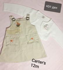 Carters fustance tirolka 12m