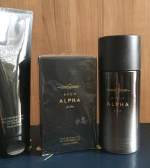 Машка колекција ALPHA од Avon