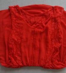 crveno novo fustance