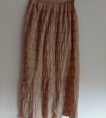 Крем сукња