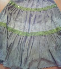 Nova letna dolga suknja