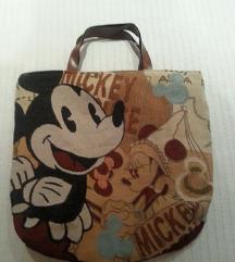 Mickey Mouse nova platnena torba