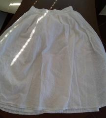 сукња бела нова